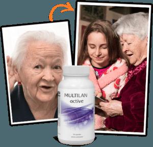 Multilan Active kapsule - navod na pouzitie, účinky