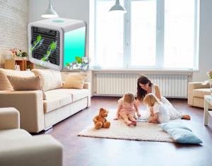 Arctic Air устройство за охлаждане на въздуха, как да го използвате, как работи